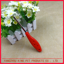 Best selling products durable metal teeth dog pet hair grooming comb