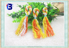 Fashionable genuine high quality colorful cotton tassel