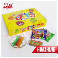 Fruit flavor 8pcs jelly good taste for kids