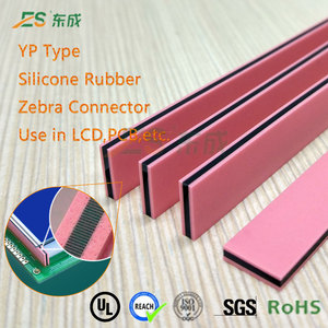 Electric Conductive Zebra LCD Display Silicone Rubber Connector