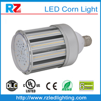 CE, RoHS Certificate frosted / clear cover 360 degree beam angle e27 e40 base 120w led corn lampara