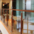 Floor Mounted Stainless Steel Handrail Glass Railing Pillar