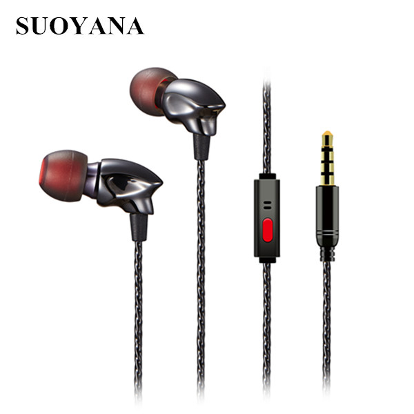 Super Bass Ceramic In-ear Noise Isolation Earphones With Mic