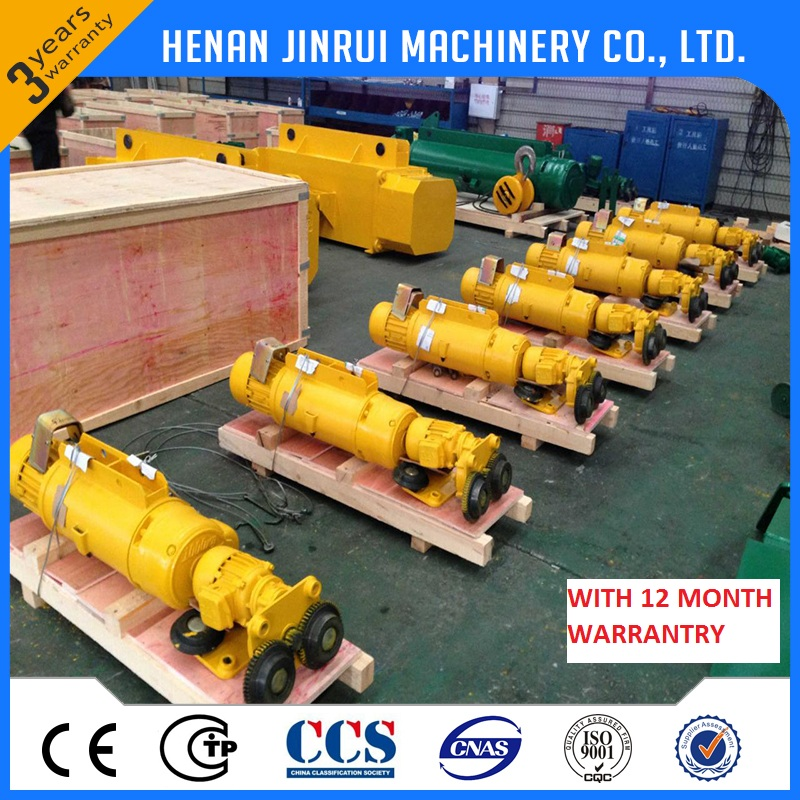 lifting electric wire rope 3 ton hoist crane