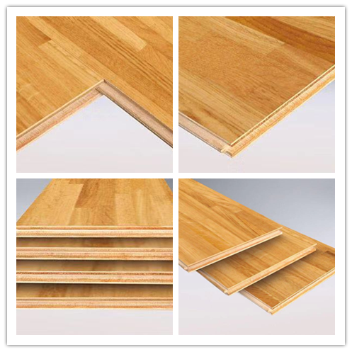 Oak multi-layer engineered wood floor jointed 15mm hot sell manufacturer ABC grade