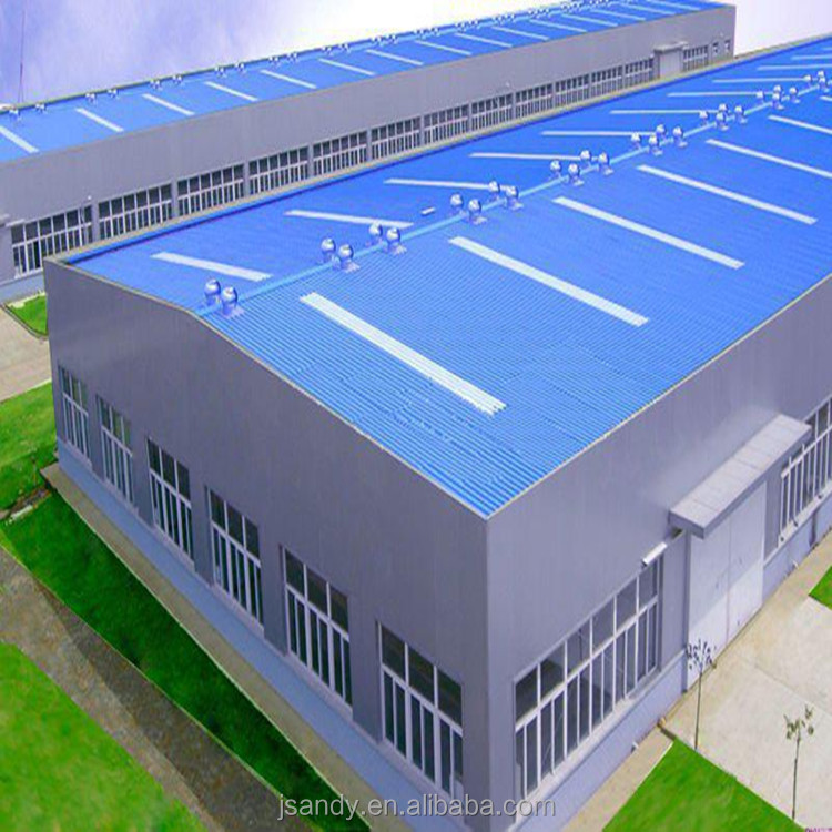 China Factory Price Prefab Light Steel Structure Workshop/ Warehouse For Industrial Building