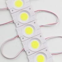 single color waterproof COB led module 50*16mm 12V Injection led modules