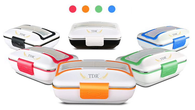 Electrical Food Warmer Heating Stainless Steel Lunch Box