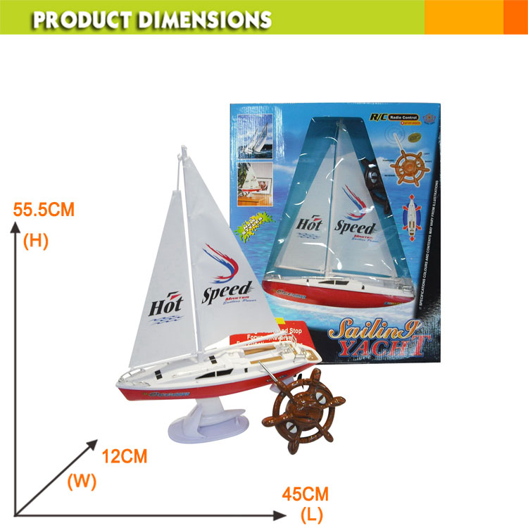 [jk Toys] 4ch Rc Sailboat Toy,Rc Boat With Rudder Controller - Buy Rc  Sailboat,Rc Boat,Rc Toy Product on Alibaba com