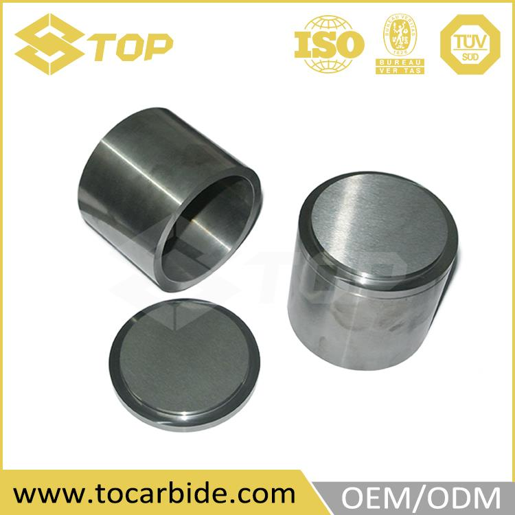 304 stainless steel tungsten grinding cup, polished carbide ball