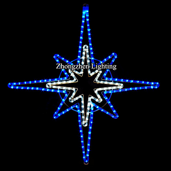 outdoor wholesale high quality waterproof led christmas bethlehem star