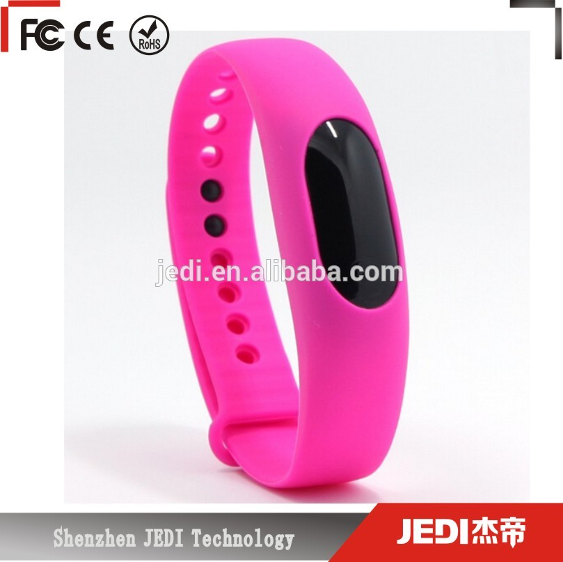 2016 Fashion silicone bracelet BL05 with auto <strong>date</strong> gh0333