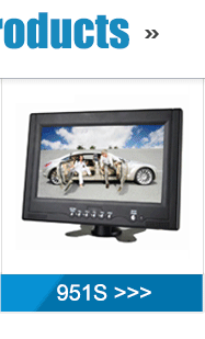 Newest Portable 195*130*30Mm 7 Inch Led Tv Monitor