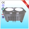 Factory made ice cream roll frying two / double pans maker 110v 220v50/60hz