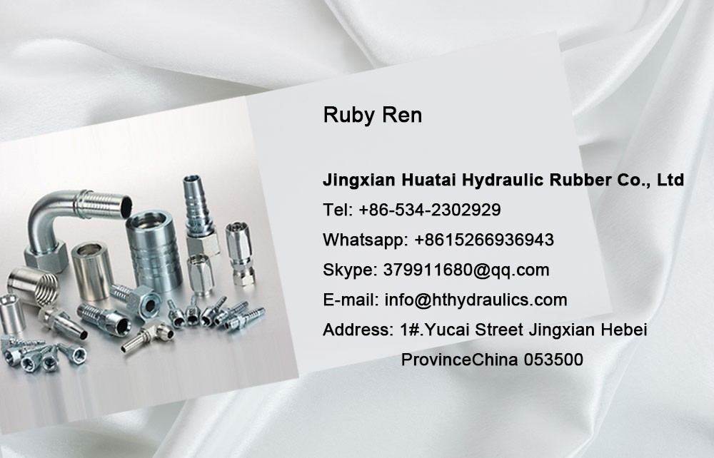 Chinese supplier hydraulic hose pipe hose ferrule and fitting with best quality