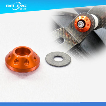 Custom Color Anodized Machining Aluminum Cone Washer For Vehicle ...