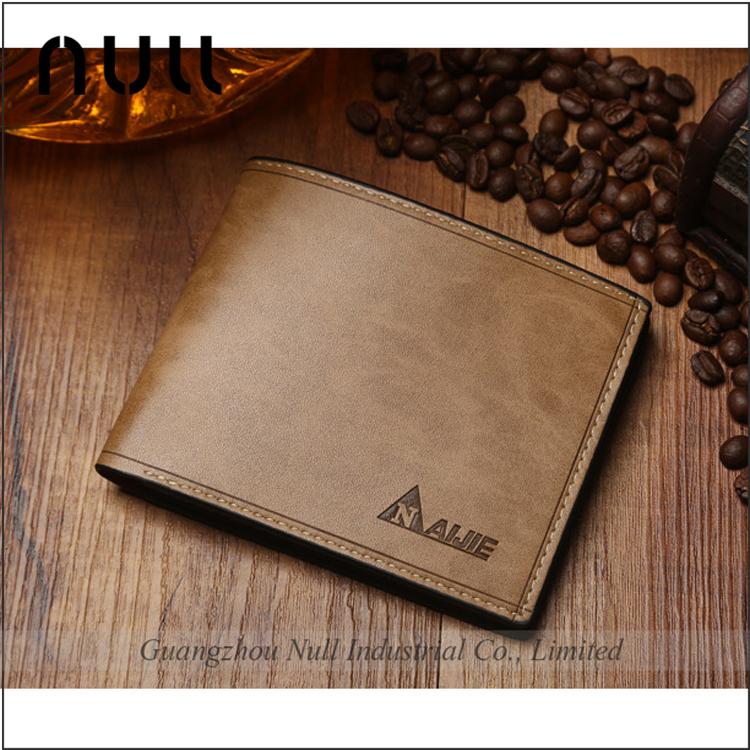 Trend chinese small gents buyers fashion credit card the money leather wallet men for import