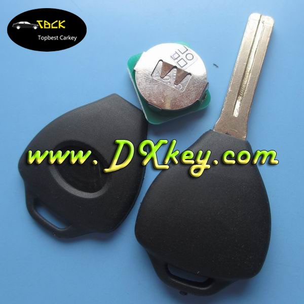 Electronic transponder chip key clone for Lexus key with electronic 4c transponder chip TOY48 blade