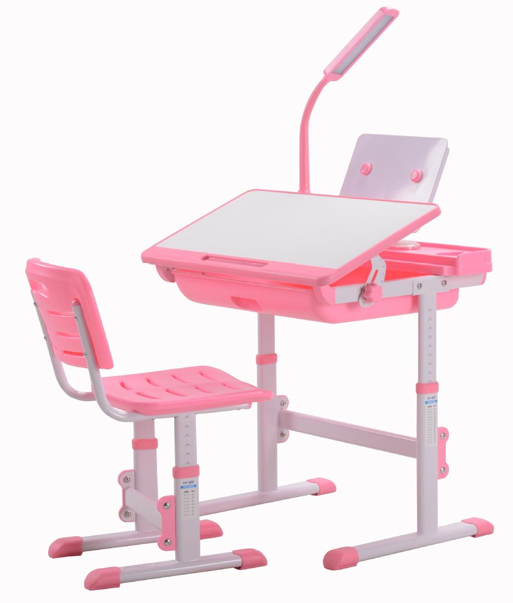 Great Height Adjustable Kids Writing Table And Chair
