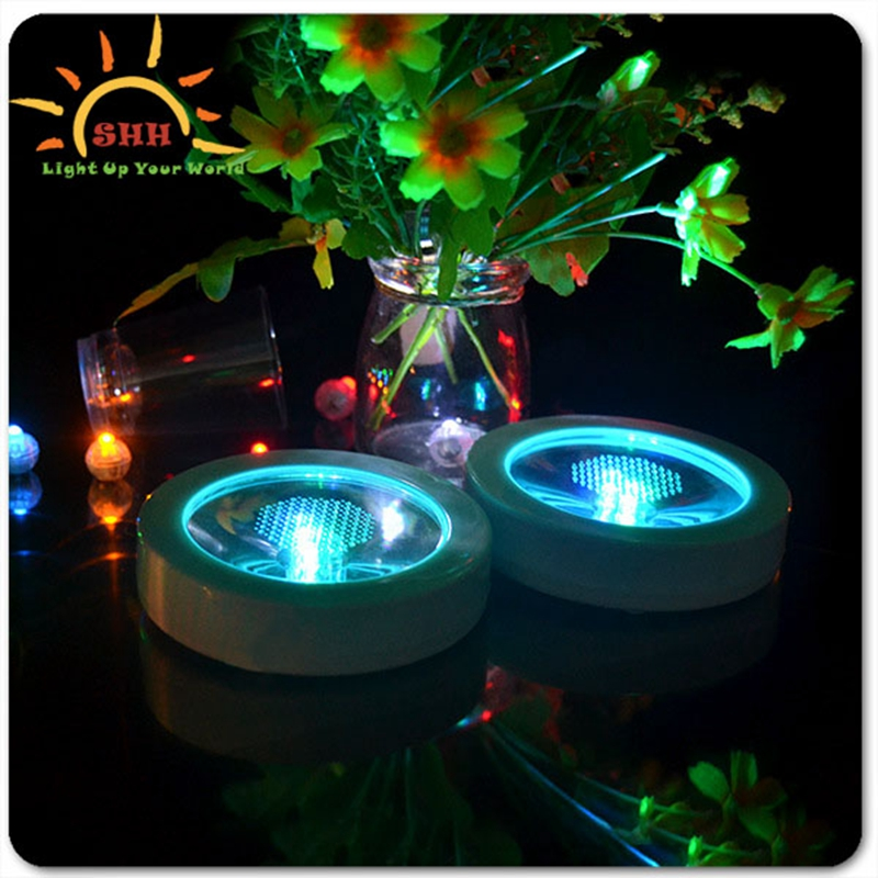 high quality decoration led cup pad drinking bottle light up coaster