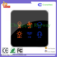 Wall Switch Timer Mobile Remote Control Automatic Temperature Change Over Switch