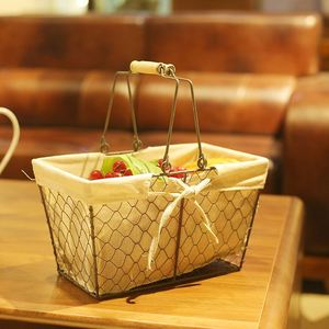 Multipurpose 2019 Hot Sale Metal Wire Mesh Basket For Food