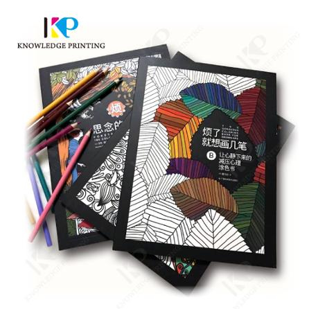 wholesale custom adult coloring book <strong>printing</strong>