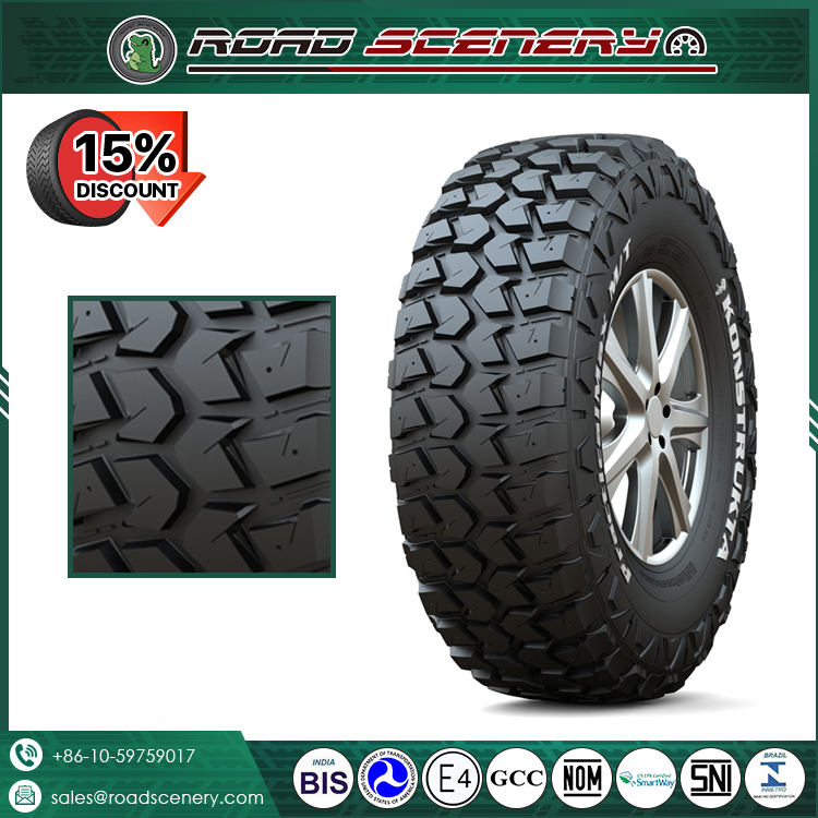 mud and snow tires LT 245/75r16 , LT 265/75r16 with ECE