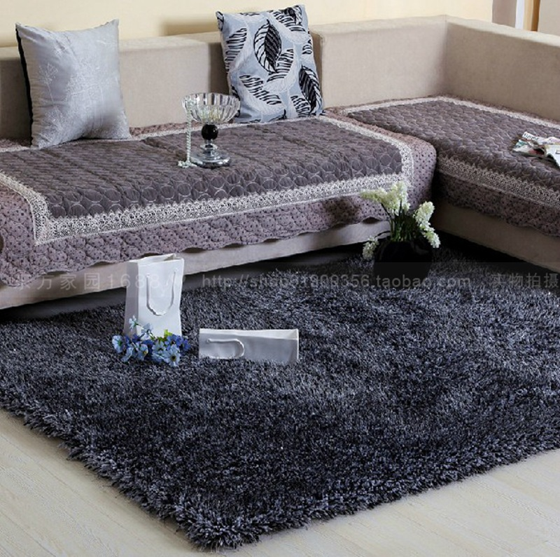 6cm Thickness Luxury European Style Carpet For Living Room