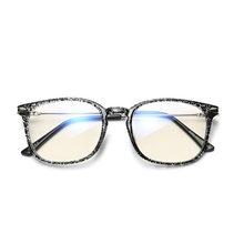 Новые анти-голубые световые очки мужской и женский оптический винтажные очки женские для вождения прозрачные оправы для очков(Китай)