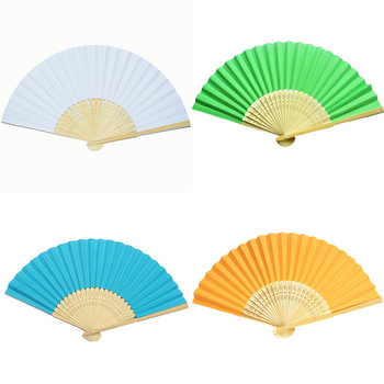 wholesale folding paper fan wedding