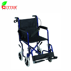 Aluminum Foldable light weight foldable wheelchair