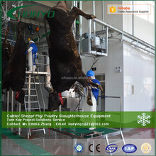Halal semi-automatic australia cattle cow slaughtering equipment slaughterhouse machine