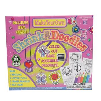 Factory Price High Quality Diy Craft Shrink Art Craft Shrink Doodles