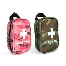 Small Camouflage green outdoor tactical military Survival kit  Medical first aid kit
