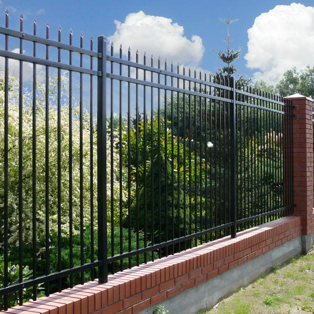 Powder Coated Galvanized Steel Border Fence Easily Installed Anodized Steel Boundary Fence Panel Pressed Point Fence Buy Galvanized Steel Fence With Powder Coating Galvanized Steel Balcony Fence Panel Security Fence Panel With Powder