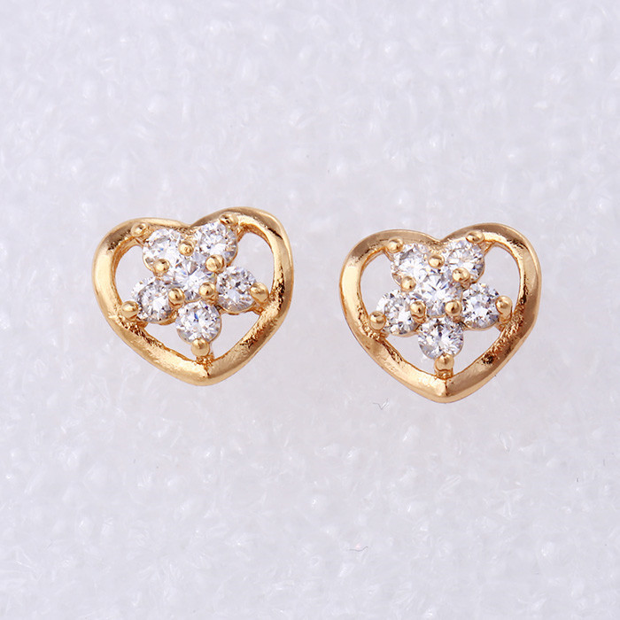 25721 Fashion high quality cheap 18k gold traditional earring
