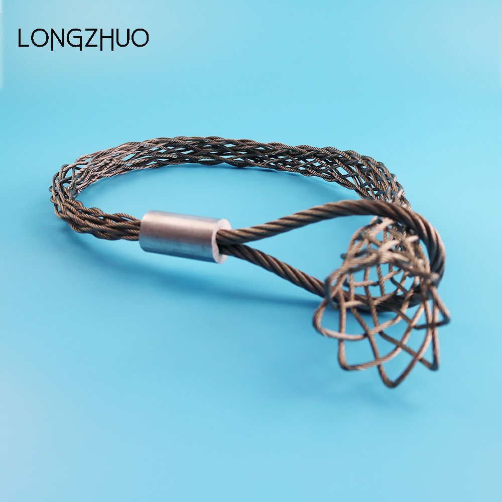 Cable Stockings Steel Socks Wire Rope Mesh Pulling Grips