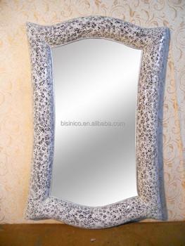 Lujo De Diseno Moderno Salon Espejo Decorativohecho A Mano Mosaico - Espejo-salon-moderno
