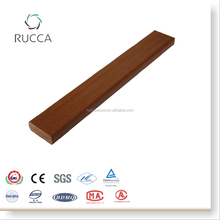 Rucca 2017 WPC/Wood Plastic Composite Teak Decorative Wooden Solid Slats for Wall Decor from China Alibaba 25*10mm