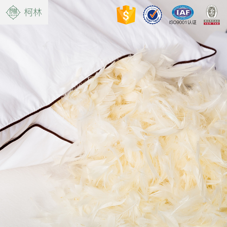 hot cake wholesale cheap best duck feather down insert hotel pillow