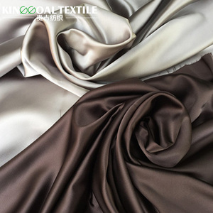 Factory direct plain dyed pure 25mm silk organza