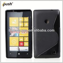 new fashion soft tpu case for nokia lumia 520 cellphone case for nokia 520