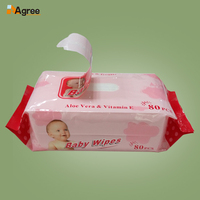 Chinese Supplier Factory Price Baby Wet Wipes, Sanitary Wipes