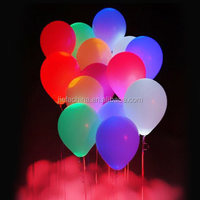 12 pack 12 inch mixed color light up LED Ballons for Party, Wedding, Birthday, Events Decoration