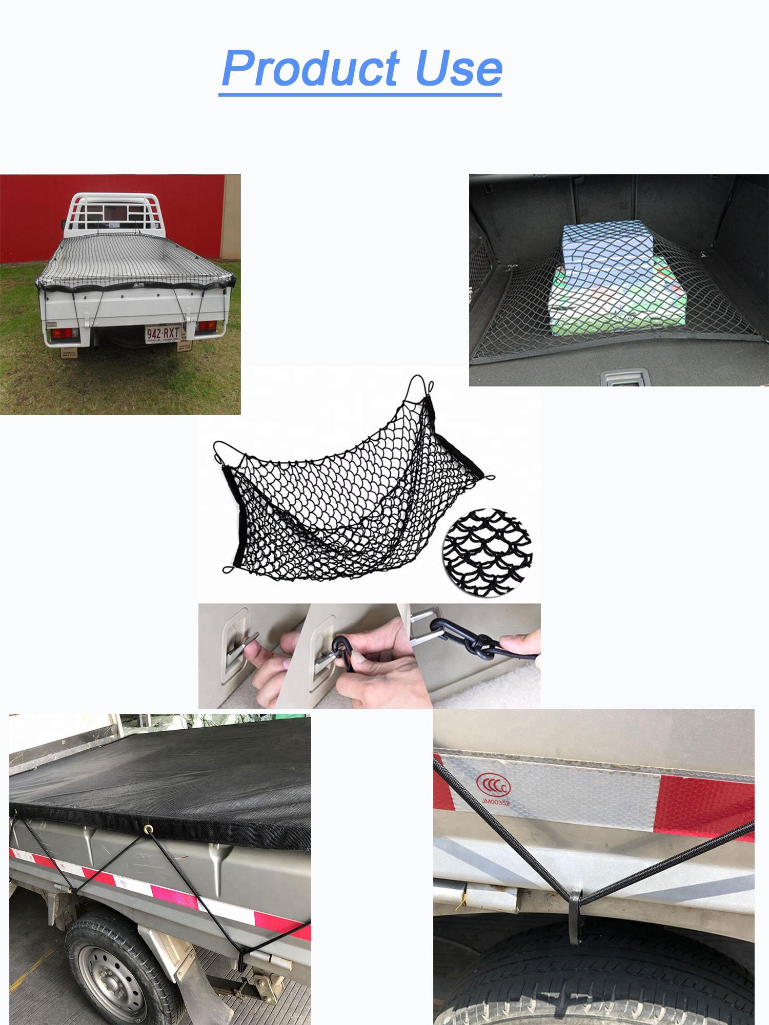 Fio de Polipropileno carga Líquida Bungee Elástica Corda bagagem net