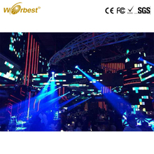 P3.91 Indoor SMD Full Color rent big Led Display apply to Night Club