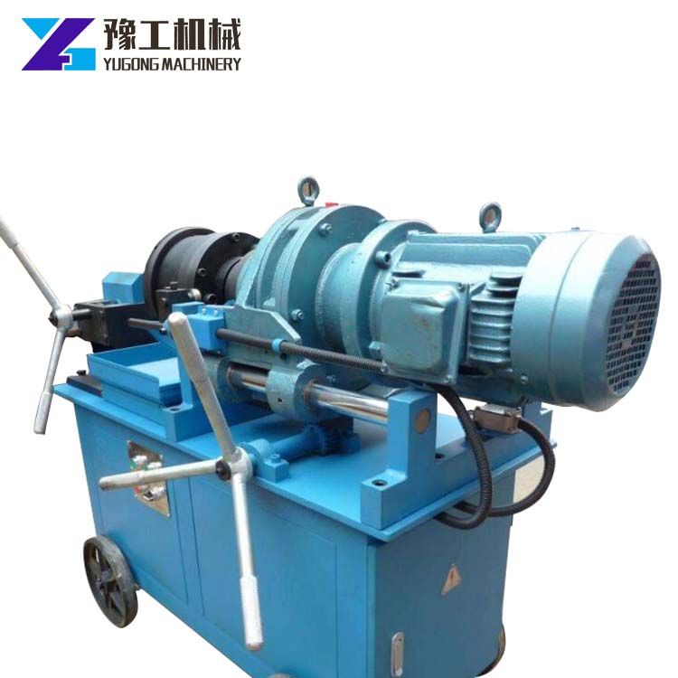 easy to use thread knurling machine