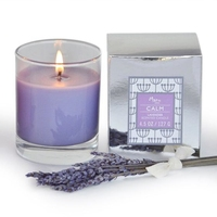 CALM Lavender Scented Aromatherapy Candle