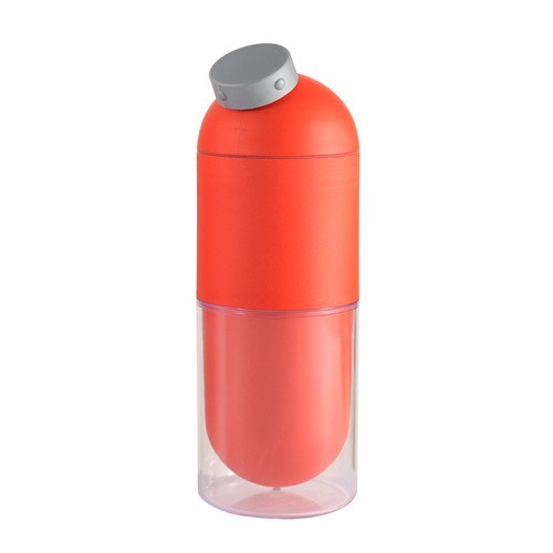 100% Food Grade Corn Capsule Shaped Bottle Biodegradable Plastic Water Bottle